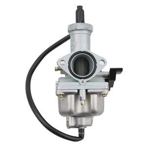 GOOFIT 27mm Carburetor Carb Motorcycle PZ27 Pump Accelerator for XL 100 125 150 175 DIRT BIKE Hand Choke N090-145