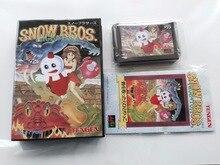 MD Game : SNOW BROS. NICK&TOM ( Japan Version!! box+manual+cartridge!! )