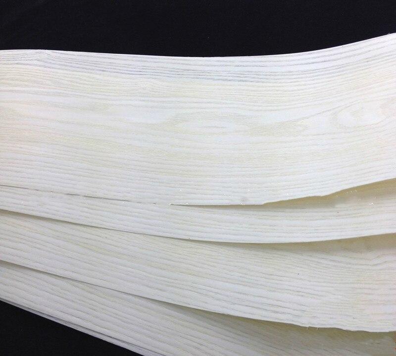 2x Natural Veneer Wood Veneer Sliced Veneer White Manchurian Ash Furniture Veneer About 20cm X 2.2 -2.5 Meters