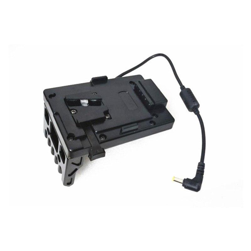 Hontoo v-lock V système d'alimentation de plaque de batterie pour SONY FS7 & FSII caméra