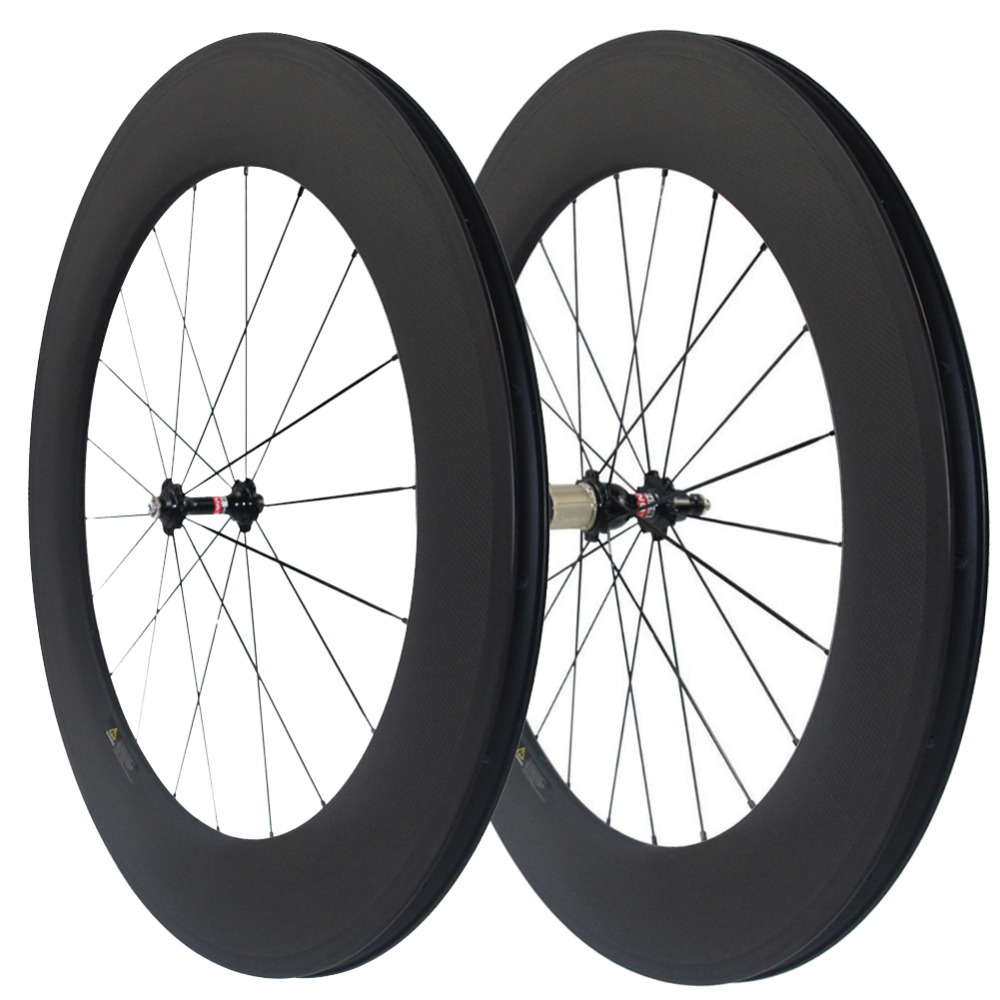 Mixed 25mm Width 38//50//60//88mm Clincher Tubular Front Rear Carbon Bicycle Wheels