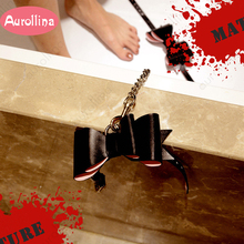 Cowskin Leather BDSM Adult Toys Tool Kits Bondage Genuine Handcuffs  Ankle Cuff Restraint Set Sex Adventure