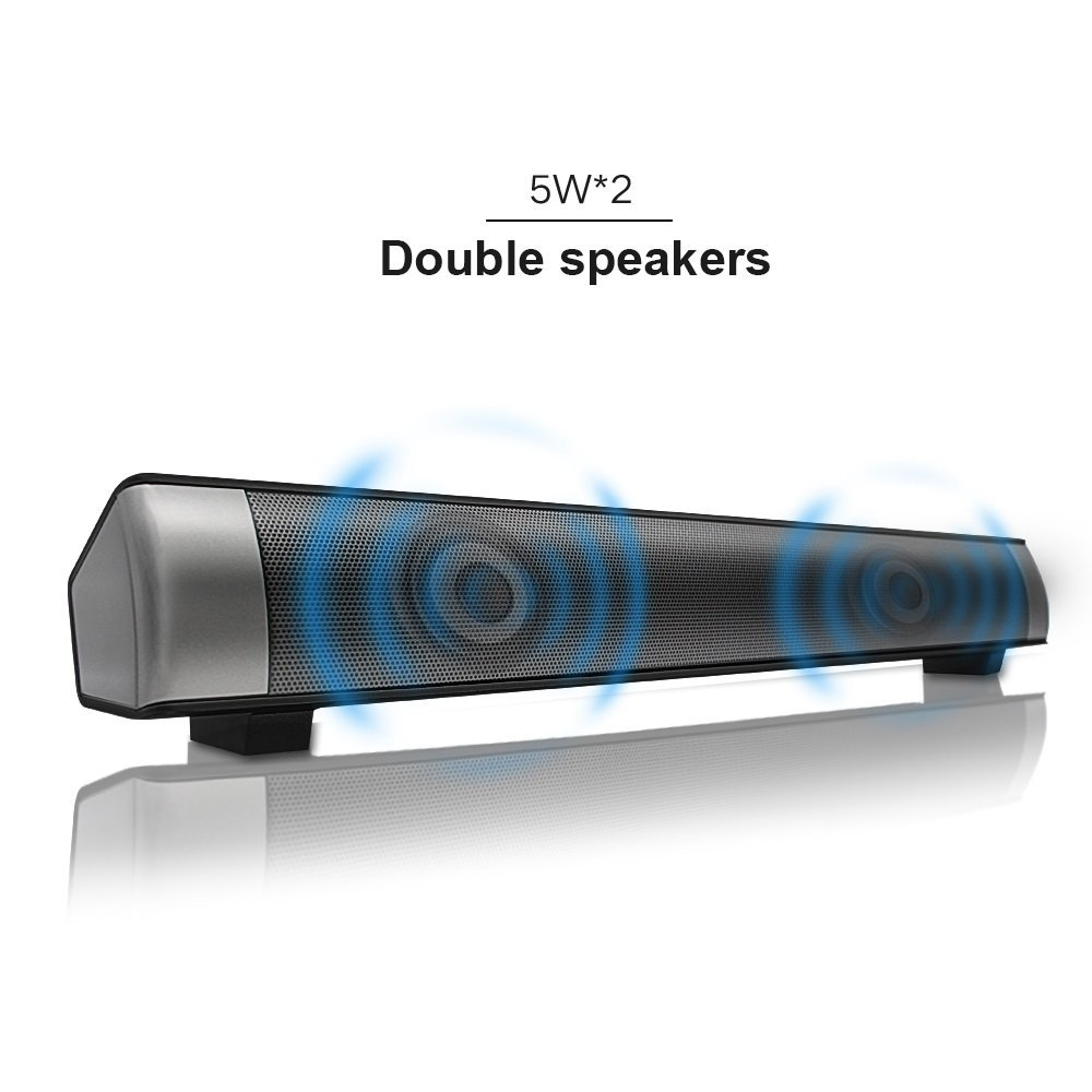Strong Super Bass New Sound bar Speakers 2.1 Channel USB MP3 Player Bluetooth Wireless Sound Bar Speaker, Micro TF SD Card AUX ...