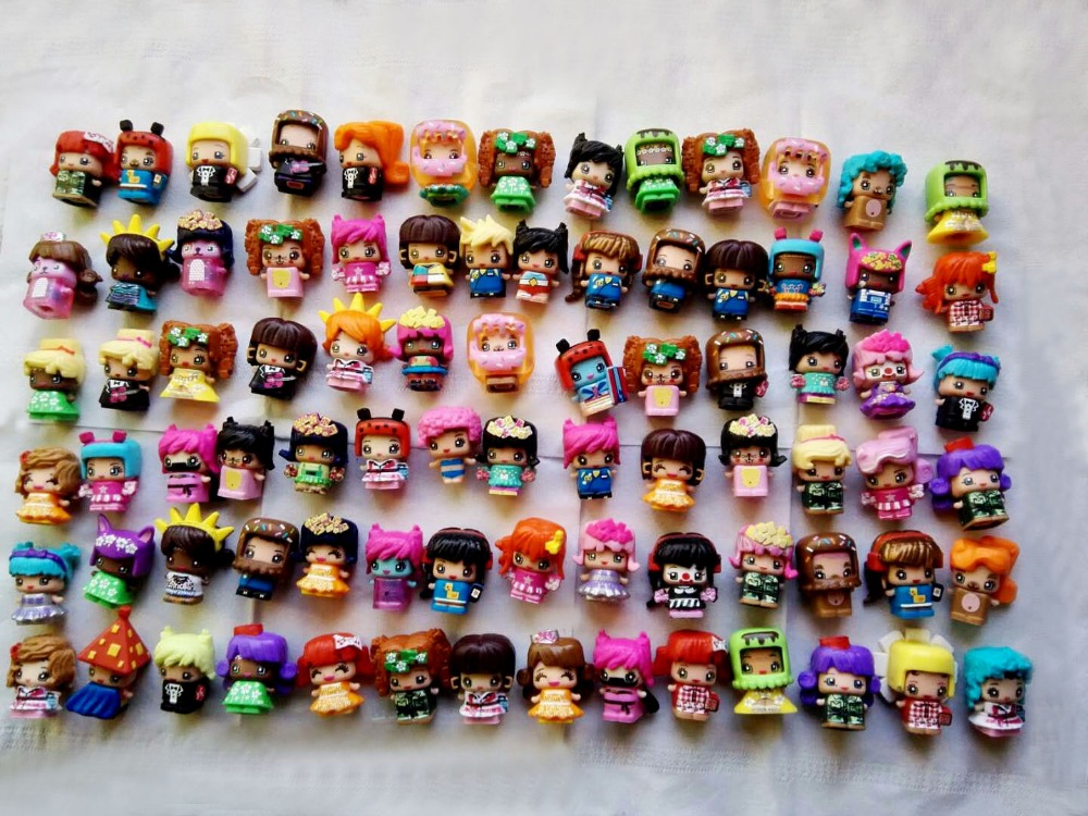 30Pcs/set Original My Mini Mixieqs Action Toys Figures Popular Kid's Playing Model Dolls Christmas Gift Toy 6pcs set disney trolls dolls action figures toys popular anime cartoon the good luck trolls dolls pvc toys for children gift