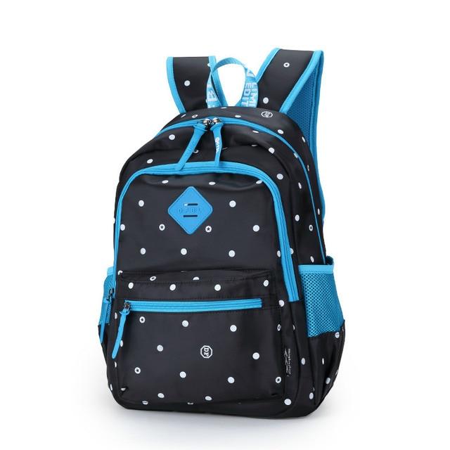 Polka Dot Small Backpack for School Bag Teenagers Girls Children Backpack Cute BookBag Schoolbag
