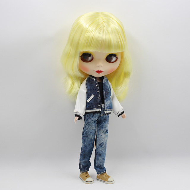 Blythe Doll Baseball Apparel