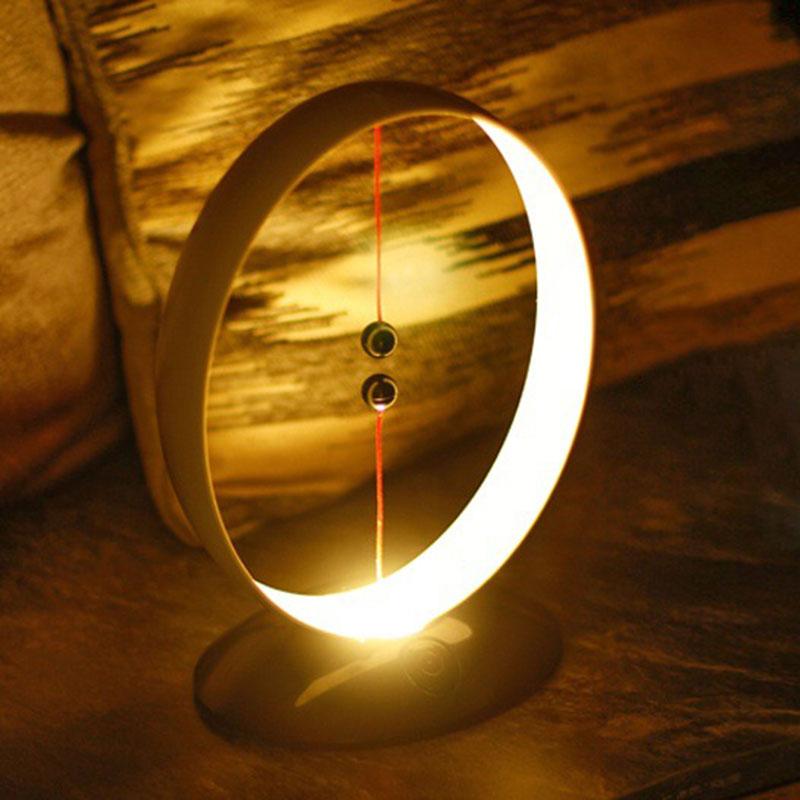 2019 Hot Magnetic Suspension Balance Lamp USB Charging LED Simple Smart Night Light AI88