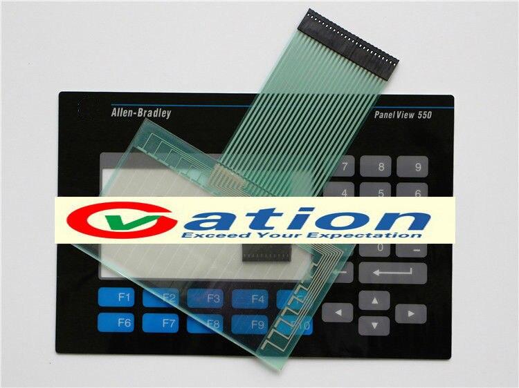 все цены на Membrane Keypad +Touch Screen panel for Panelview 550 2711-K5A15 2711-K5A20 онлайн