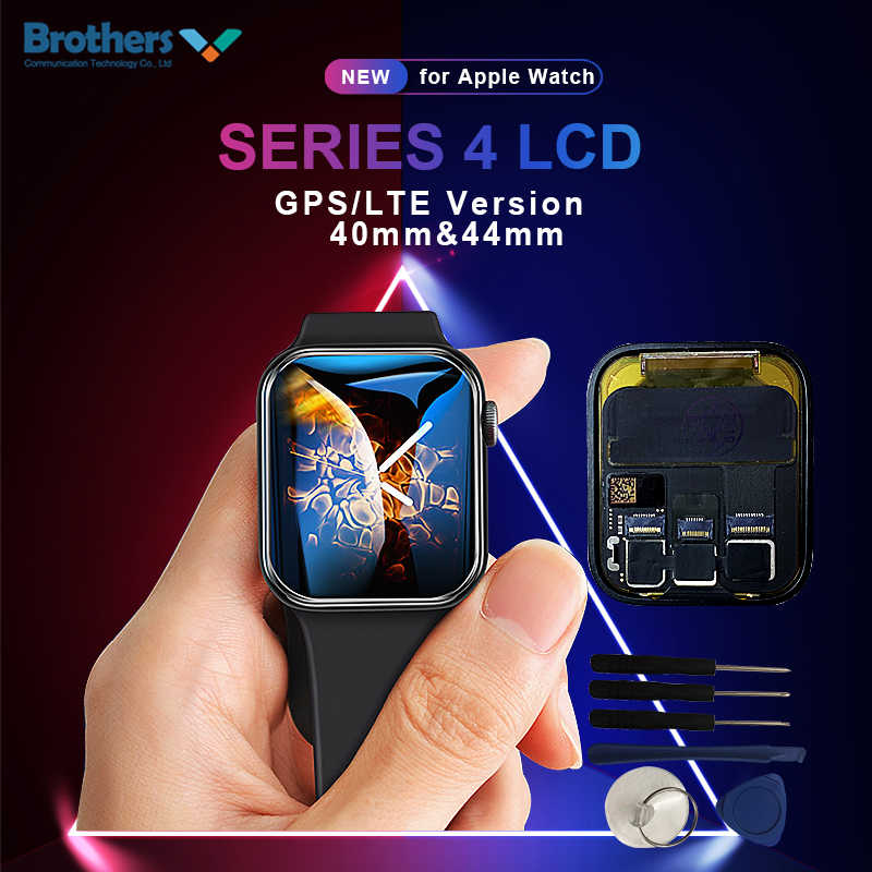 LCD ekran Apple Watch Serisi Için 4 LCD Ekran 40mm 44mm dokunmatik ekran digitizer Apple Watch Serisi için 4 LCD Meclisi GPS/LTE