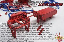 Area Rc Dual Steering Servo Radio Tray V3 Full Metal Version For LOSI-5T 0236/5765