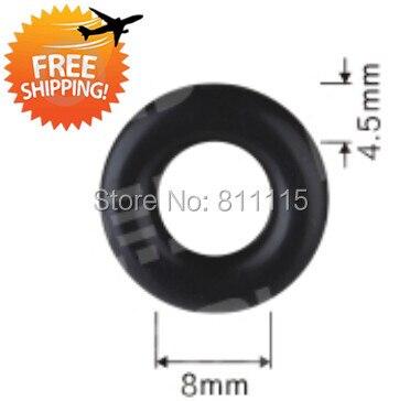 Fuel Injector Oring O ring, 8x4.5mm, 500pcs, free shipping O\'rings ...