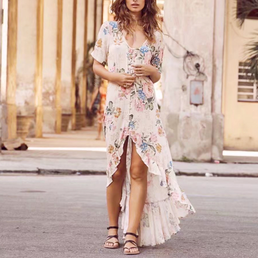 TEELYNN Boho Maxi Dress DR03084