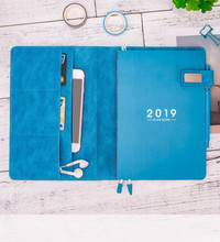 2019 A5 Soft School Planner Notebook Daily Weekly Yearly Planner Notebook Personal Journal Diary Organizer Planner Agenda japanese kawaii notebook a5 refill inner journal planner hobonichi weekly planner notebook agenda 2018 bullet journal defter
