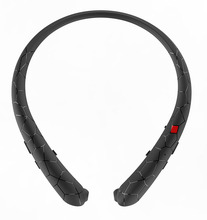 Retractable Earbuds Bluetooth Headset Neckband Sport Headphones Wireless Stereo Bluetooth Earphones with Mic For iphone xiaomi