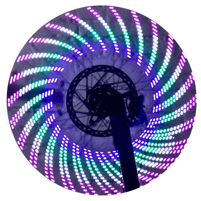 2017 new bicycle wheel signal tire spoke led lights decoration safe lights outdoor sport bike bicycle
