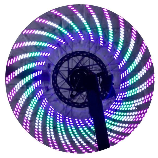 2017 Nieuwe Fietswiel Signal Tire Spoke LED Verlichting Decoratie ...