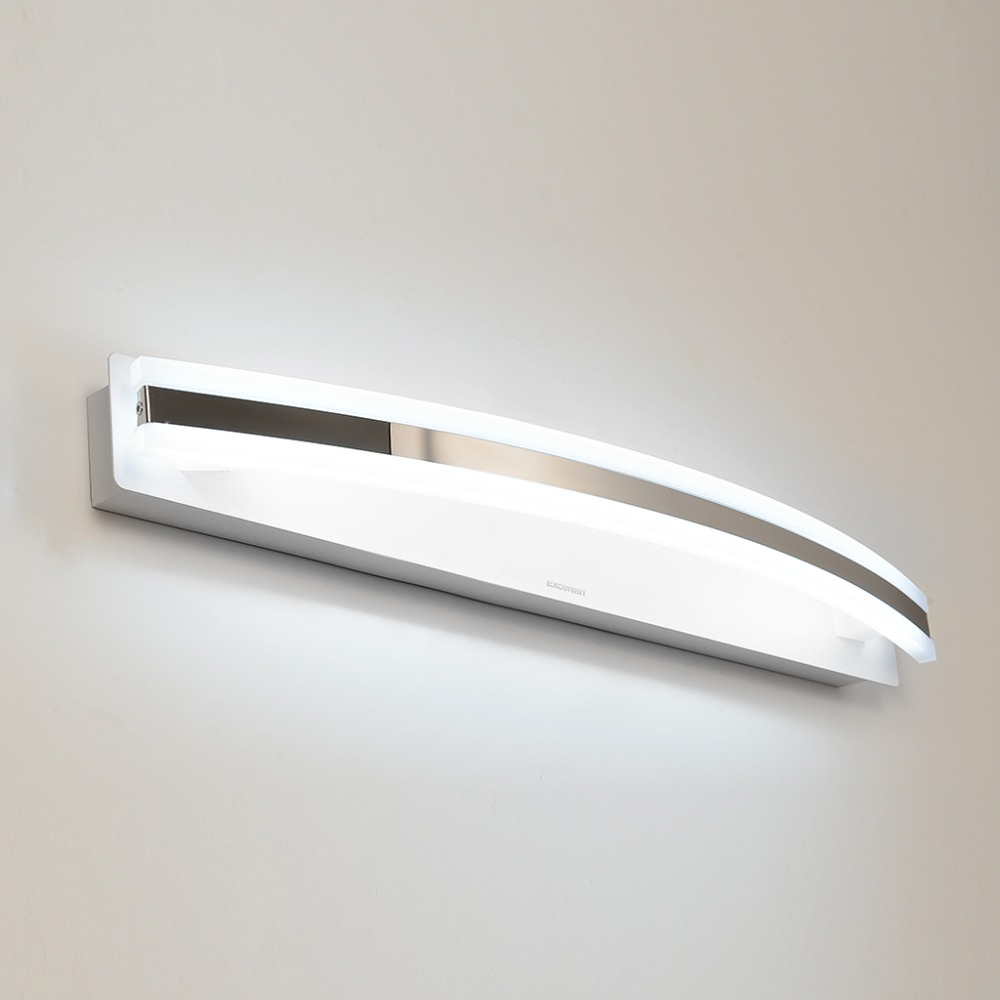 LumiParty Modern 12W 59cm LED Indoor Wall Light Lamp Banheiro Deco Bathroom Mirror Light Wall Sconce Vanity Light Lamps