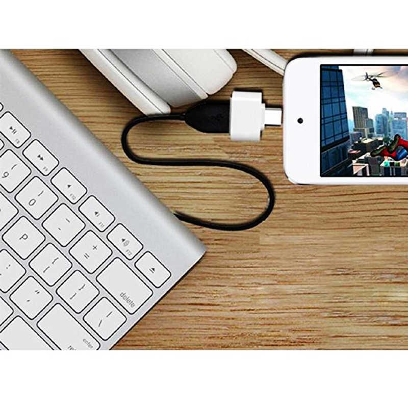 Práctico convertidor Durable mini micro USB a Adaptador USB OTG para Android SmartPhone OTG adaptador para teléfono Android