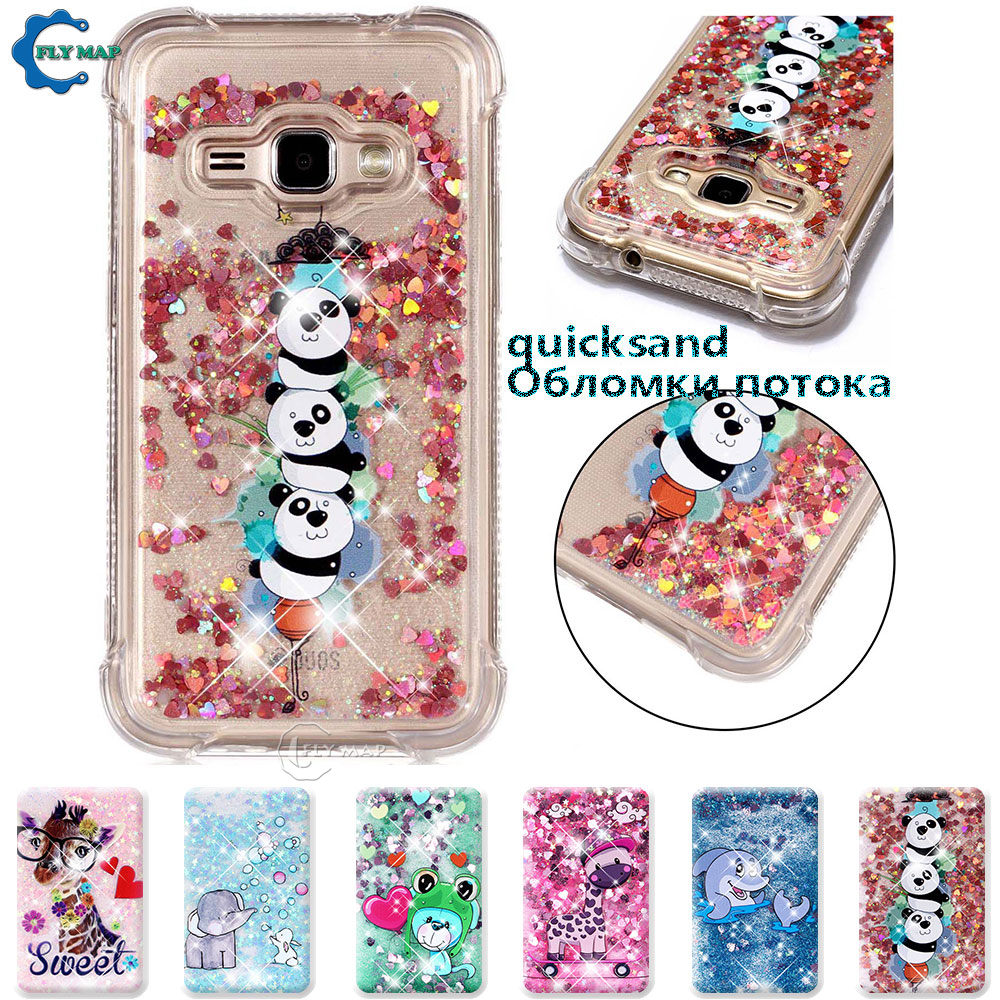 Objective Case For Samsung Galaxy J1 2016 Sm J120 J120f J120fn J120h Sm-j120f Sm-j120fn Glitter Stars Dynamic Liquid Quicksand Tpu Case Nourishing Blood And Adjusting Spirit Cellphones & Telecommunications Fitted Cases