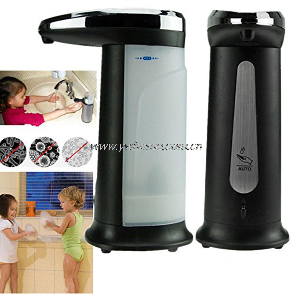 400 ml Galvani Automatische Seifenspender Touchless Sanitizer Dispenser Eingebaute Infrarot-licht Smart Sensor für Küche Bad