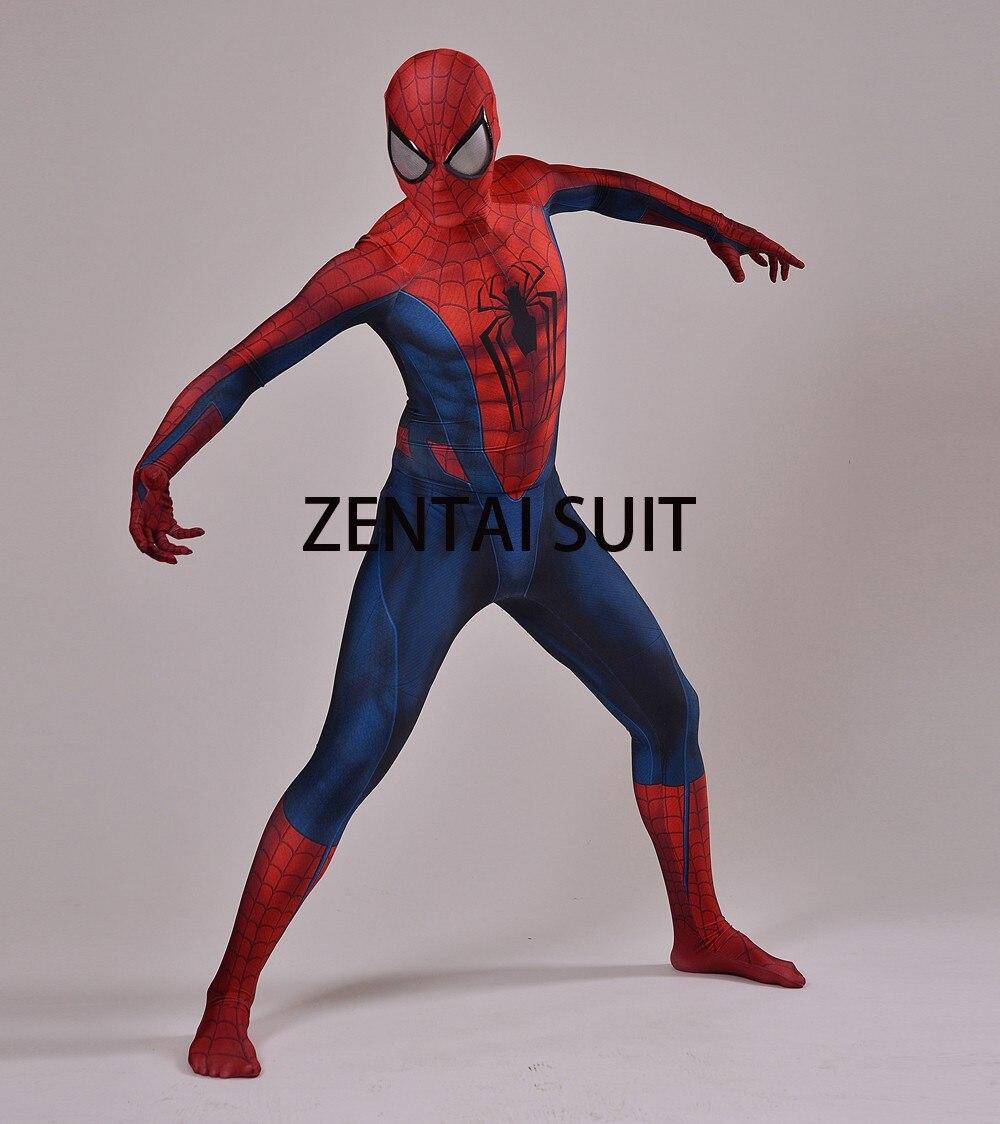 Մանկական մեծահասակների Spiderman - Կարնավալային հագուստները - Լուսանկար 2