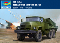 Trumpet 01032 1/35 Russian gradient 1 Rocket Artillery Model Assembly Model Building Kits Toy