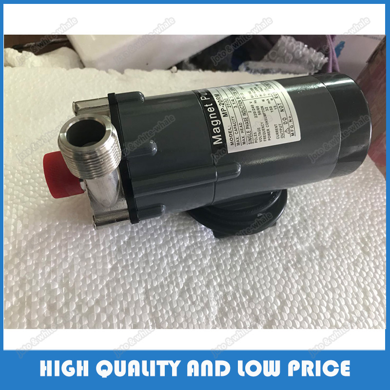 (MP-20R/RM) Stainless Steel Electric Corrosion Resistant Magnetic Portable Centrifugal Water Pump 110/220V