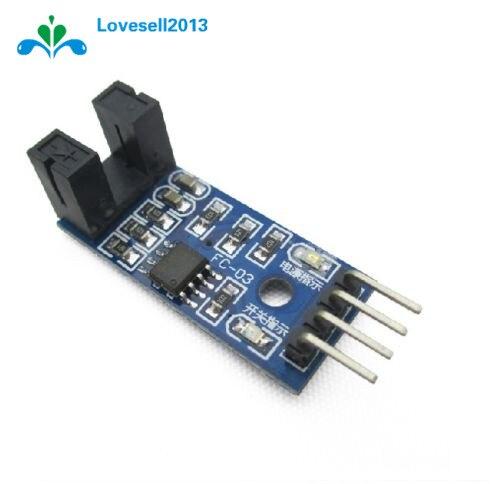 2PCS Slot Type IR Optocoupler Speed Sensor Module LM393 For Arduino
