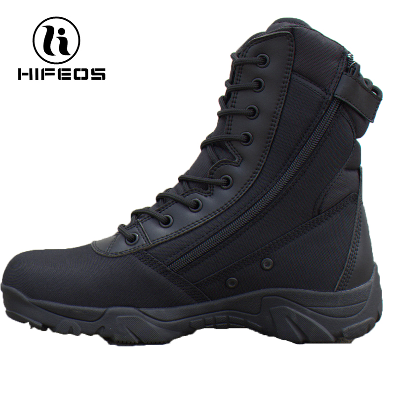 HIFEOS men camouflage boots outdoor hiking shoes high-top desert magnum trekking sneakers breathable anti-slip tactical M023 hifeos outdoor hiking shoes anti slip boots lace invisible increased men s shoes comfortable breathable sneakers climing m065