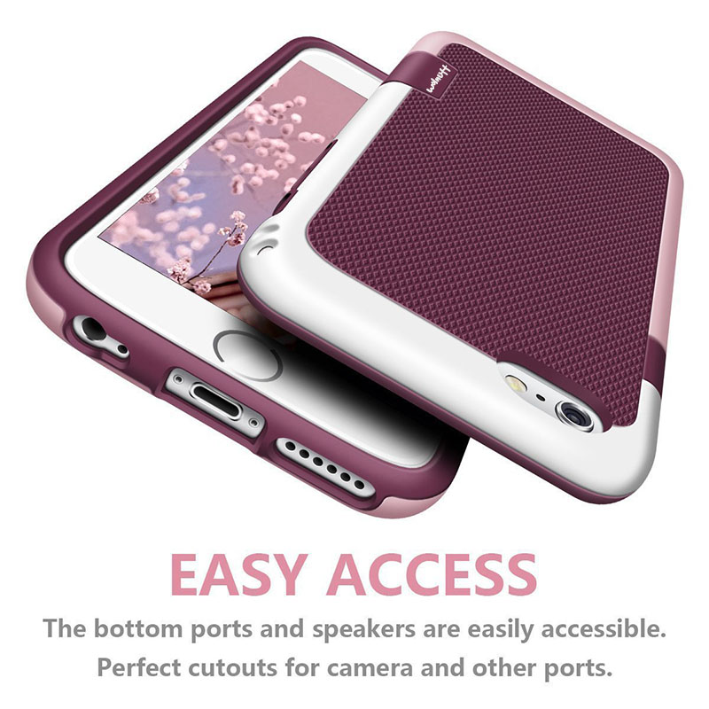 Luxury Dropproof PC TPU Silicone Hard Protective Case for iPhone 11 Pro XS MAX XR X 10 6s 7 8 Plus coque Tough Cover accessories(China)