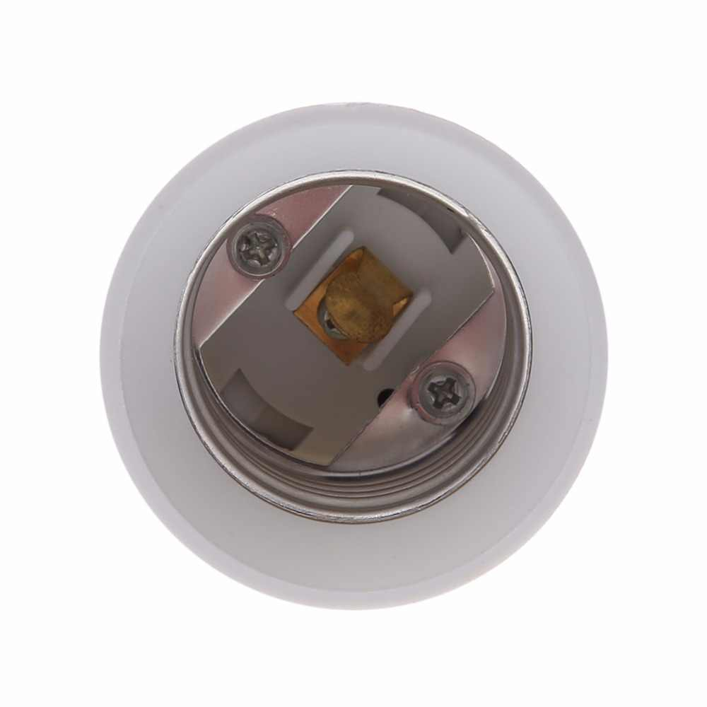 B22 per E27 Conversione di Base Alogena LED CFL Luce Del Supporto Della Lampada Della Lampadina del Convertitore Dell'adattatore Dello Zoccolo Accessori