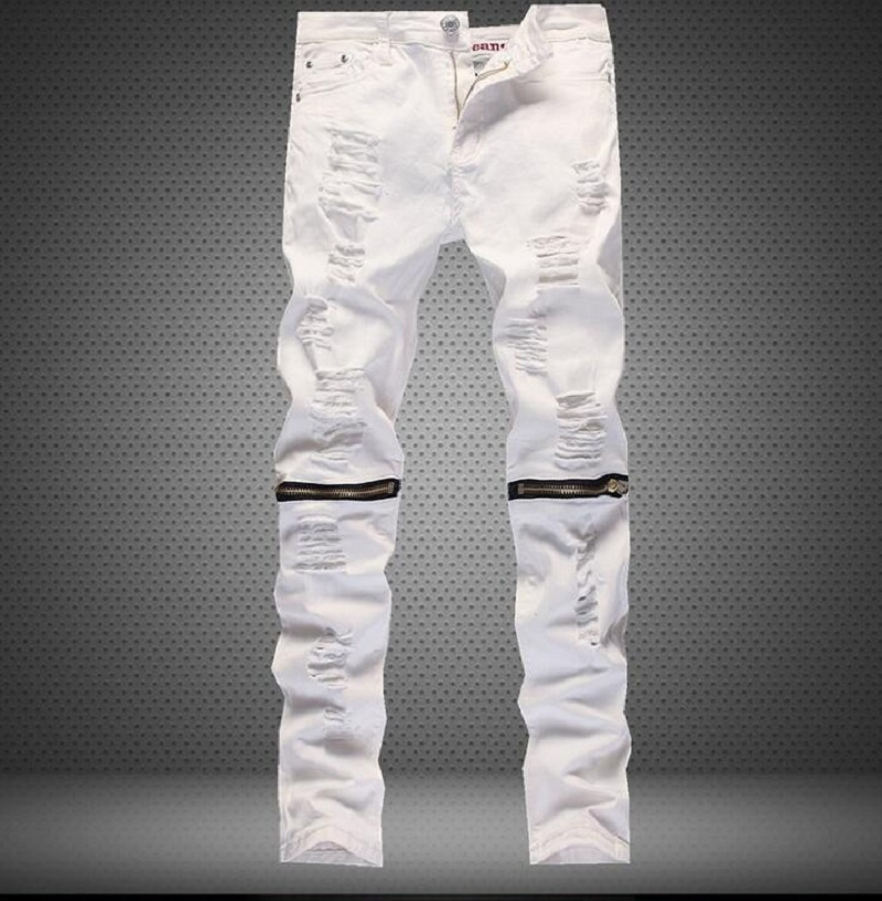 Online Get Cheap White Skinny Jeans Men -Aliexpress.com | Alibaba ...