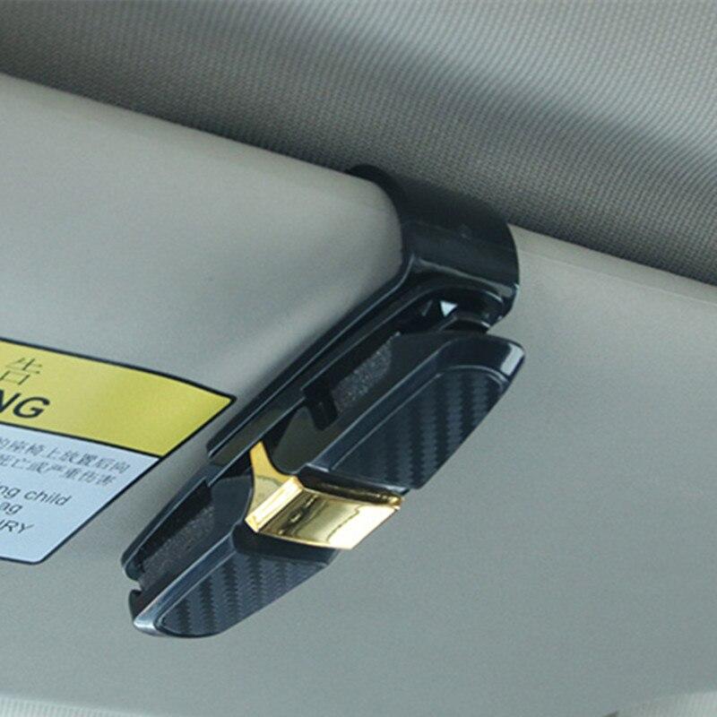 Clip-Holder Sunglass-Clip Eyeglass Auto-Sun-Visor Reading Car For Universal-Card-Pen
