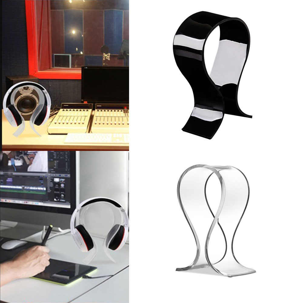 1Pcs Earphone Accessories Durable Classic Headphone Display Holder Headset Stand Earphone Mout Stand Holder Hanger  #5