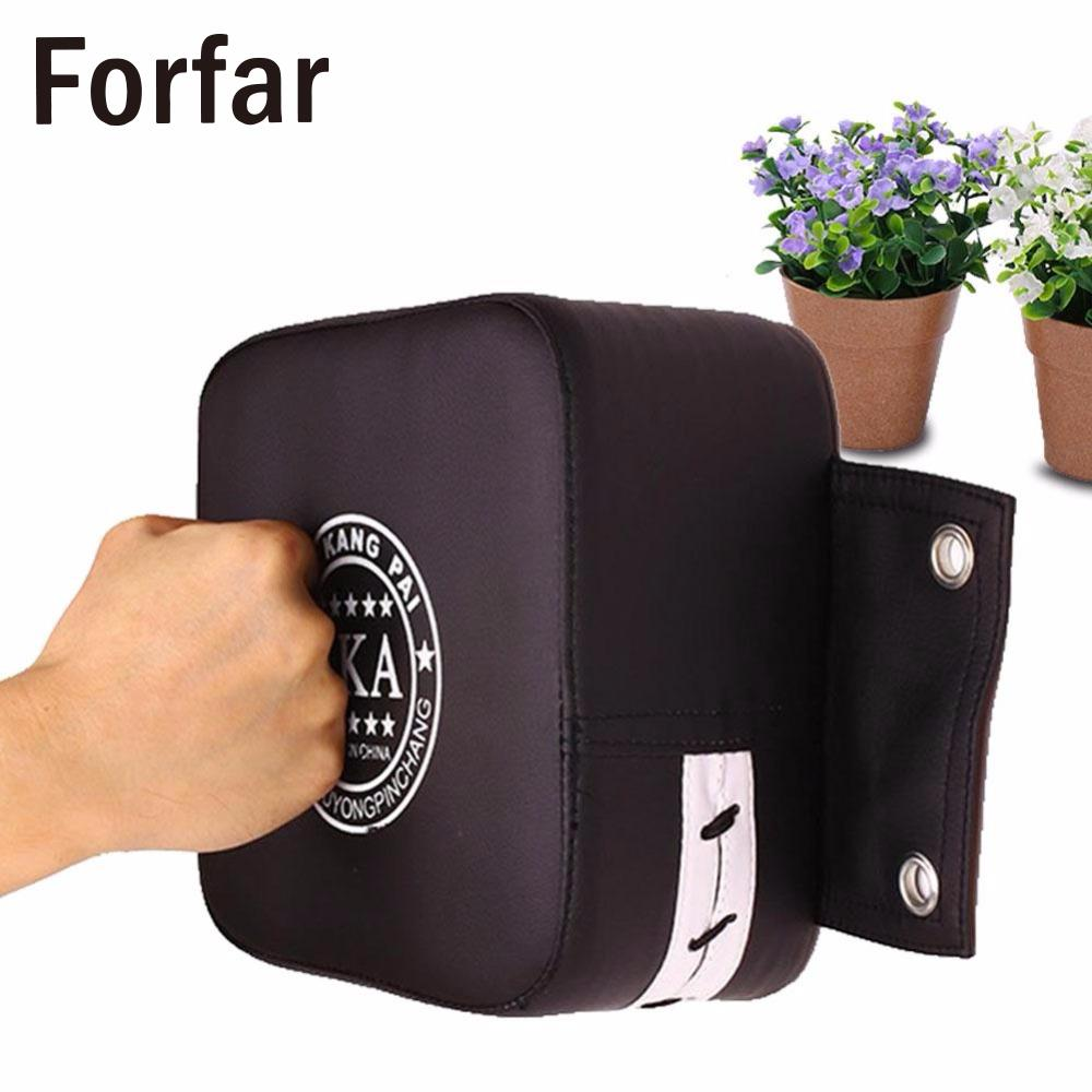 Forfar PU Leather Wall Boxing Target Pad Fight Sanda Taekowndo Punching Training Bag High Quality