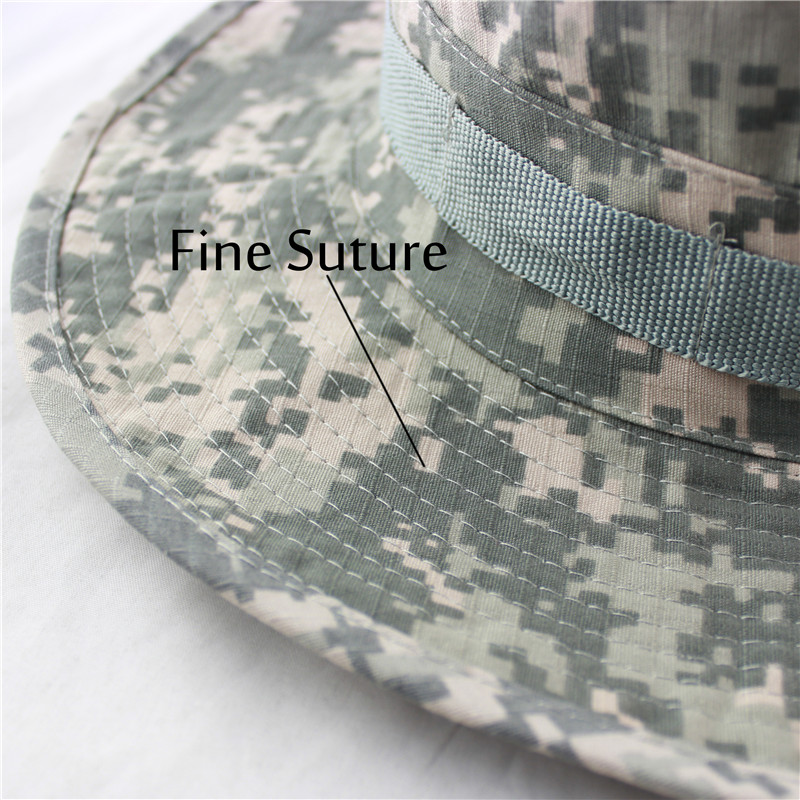 427b04dd29323 2018 New Men Bucket Hats Tactical Airsoft Sniper Camouflage Nepalese Cap  Army Mens Outdoor Boonie Hat Fishing Hiking Sun Hats-in Bucket Hats from  Apparel ...