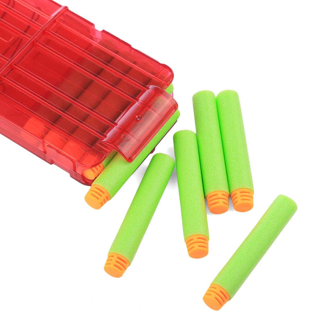 300 قطعة 7.2*1.3 سنتيمتر إعادة الملء السهام رصاصة طرية ل Nerf النخبة سلسلة الناسف الاطفال مسدس لعبة رصاصة طرية الأزرق رغوة البنادق اكسسوارات