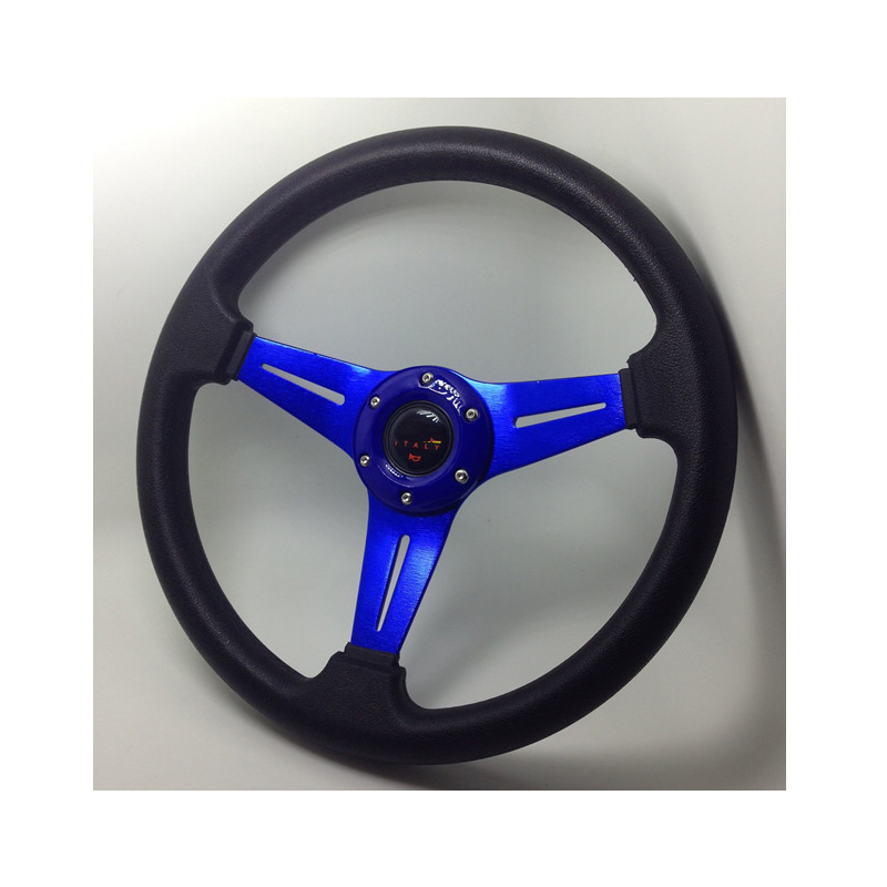 14 pulgadas 350mm coche automóvil marco azul volantes momo drifting ...