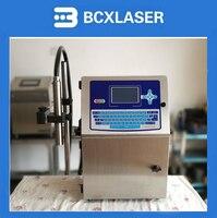 Небольшое производство Дата термопринтер штрих кодов автоматический струйный принтер может спрей яйца бутылки