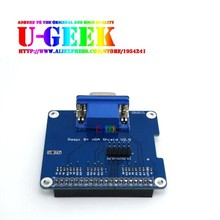 Cheapest prices UGEEK GPIO to VGA Adapter HAT Expansion Board/Shield for Raspberry Pi 3 Model B, Pi 2 Model B, 2B, B+, A+, Zero