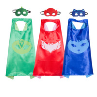 Superhero Cape 1 Cape 1 Mask For Kids Birthday Party Favors And Ideas