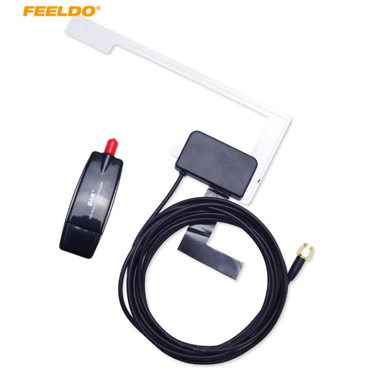 1 Zestaw Odbiornik USB Dongle Z Anteny DAB + Digital Audio Broadcasting dla Samochodów Po Rynku Android Odtwarzacz DVD Radio I DAB + APP