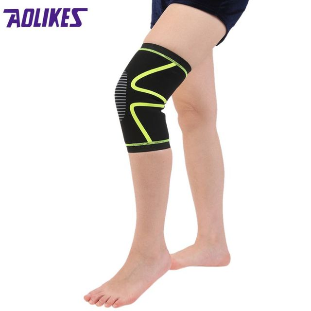 New Compression Knee Sleeve Flexible Fit Brace Support Sports Wear Copper Arthritis j2