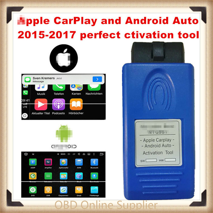 Limitless Use Apple CarPlay And Android Auto Activation Tool For 2015-2018 MB NTG5 S1 Safer Way To Use Your IPhone/Android Phone