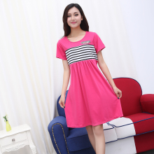 New Arrival Maternity Clothes Pregnant Dress summer Style Elastics Striped Clothes for Pregnant Women Maternity Dresses B111