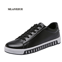 Mlanxeue Spring Men Red Shoes Man Fashion Flat Breathable Shoes Male Lace Up Comfortable Shoes Street
