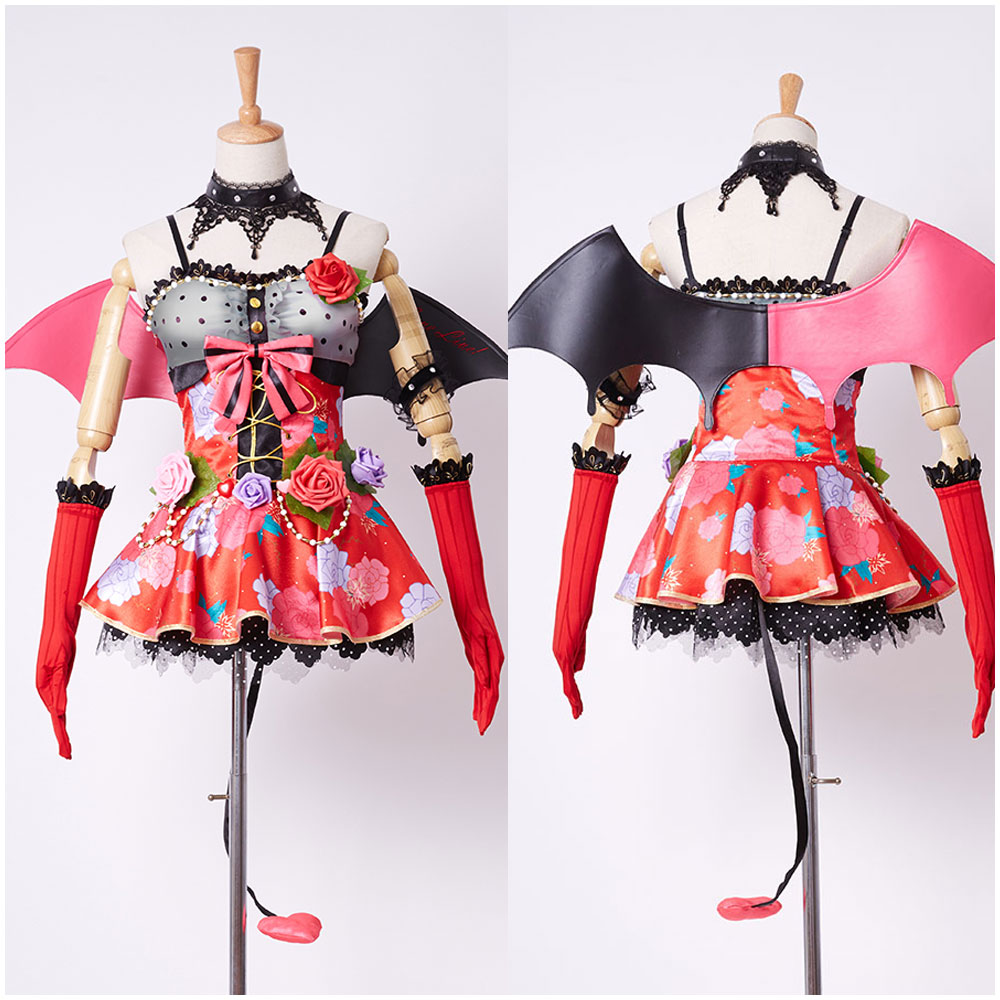 Love Live!lovelive Nozomi Tojo Little Demon/Devil Cosplay Costume Girls' cosplay dress Set for party Halloween Carnival Costumes