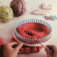 1set 2018 Practical Multifunctional 5000 100 Knitting Board Knit and Weave Loom Craft Yarn Kit DIY Handmade Scarf Sweater Tools