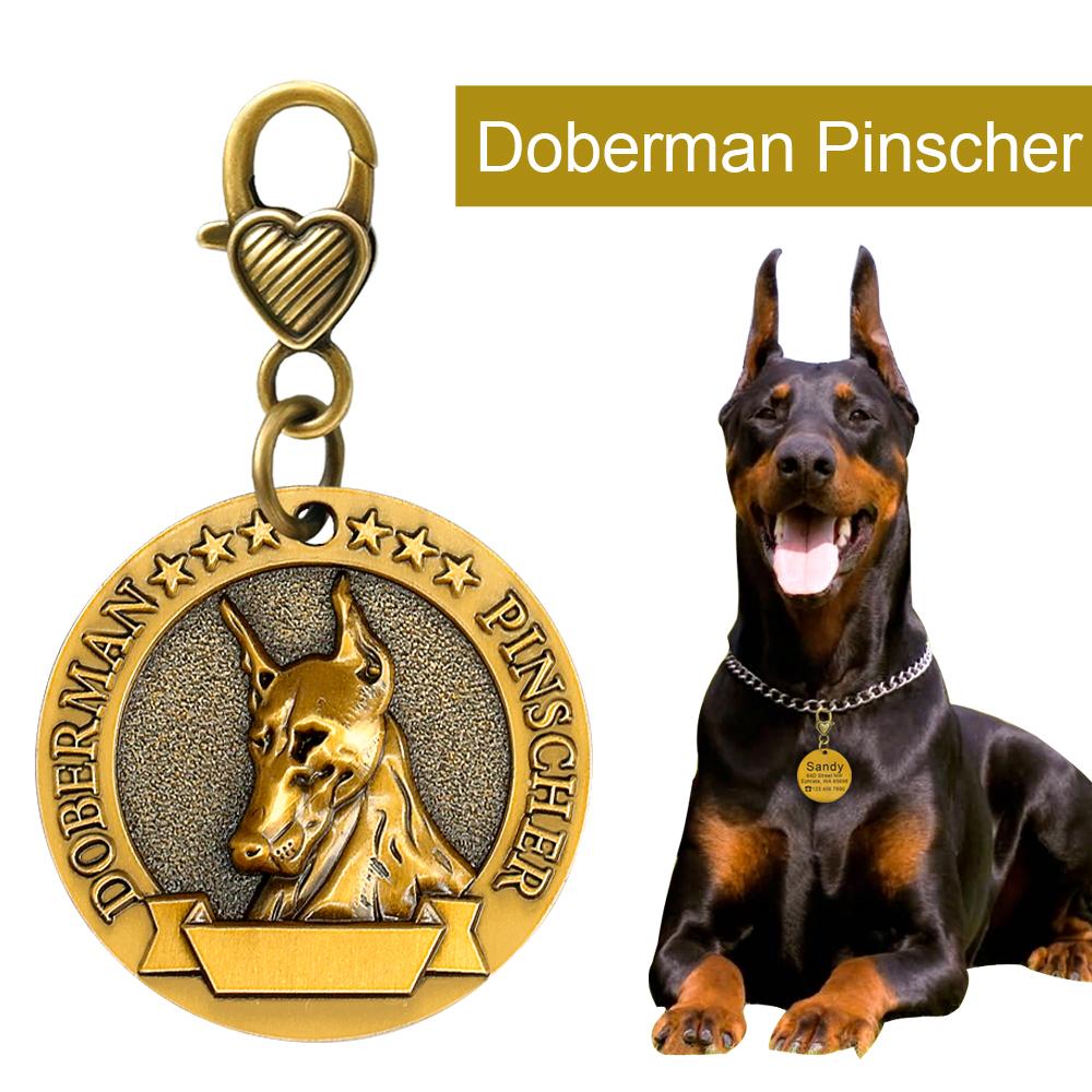 Placa de identificación de perro personalizada 9