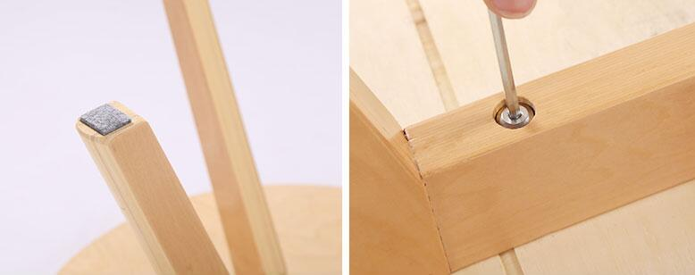 Pleasant Contemporary Round Coffee Tea Table Wood Living Room Evergreenethics Interior Chair Design Evergreenethicsorg